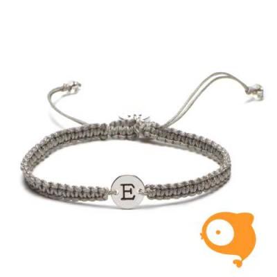Proud Mama - Armband met initiaal E