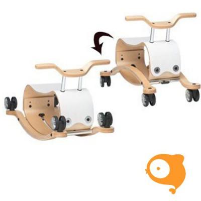 Wishbone - Wishbone flip wit loopfiets/schommelpaard