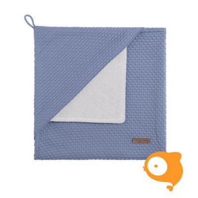 Baby's Only - Omslagdoek chenille cloud indigo