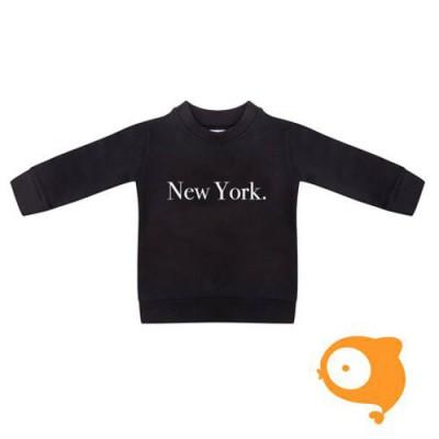 Little Indians - Sweater New York zwart