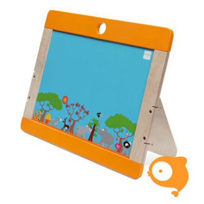 Scratch - Play&learn: tweezijdig black- & whiteboard safari