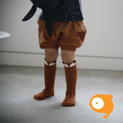 Mini Dressing - Kniekousen fox brown
