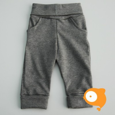 Wooden Buttons - Grijs broekje met zakjes