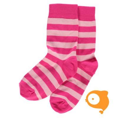 Maxomorra - Socks cerise/pink