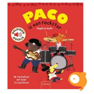 Clavis - Geluidenboekje 'Paco is een rockster'