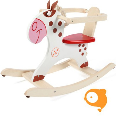 Scratch - Rock&Roll rocking horse indiaanse pony