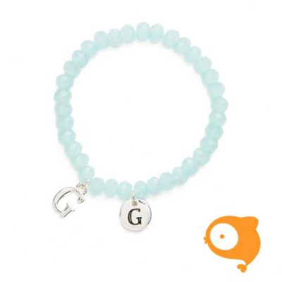 Mie Toe - Dochter armbandje met initiaal G