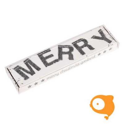 Rexinter - Slinger merry christmas zilver