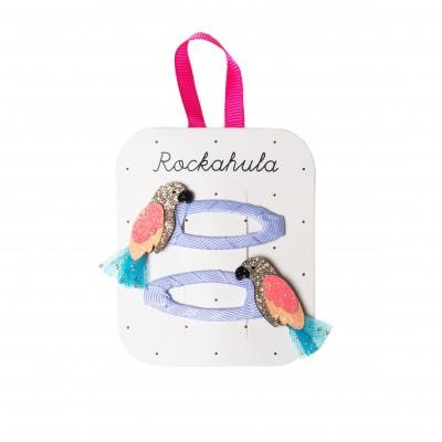 Rockahula - Clips papegaai Pablo glitter