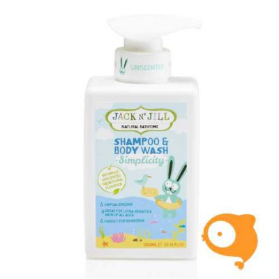 Jack 'N Jill - Simplicity shampoo & body wash