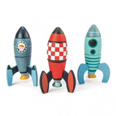Tender leaf toys - Rocket construction