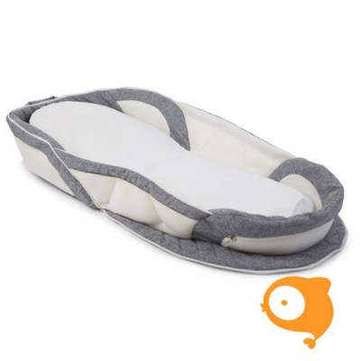 Childhome - Soft bed easy go white grey