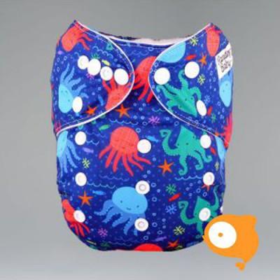 Pandababy - Uitwasbare Zwemluier (drukkers) Inktvisje