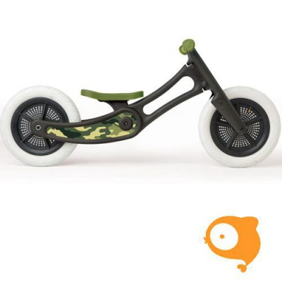 Wishbone - Stickers camo green (voor Wishbone Bike recycled edition)