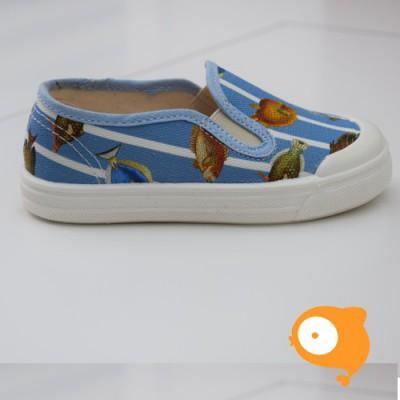 Pépé Children Shoes - Tessuto Fish
