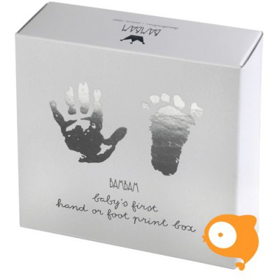 BamBam - Hand- of voetafdruk met gips complete set