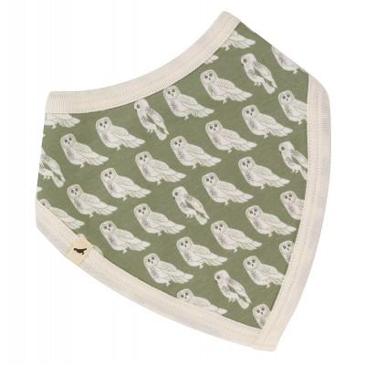 Pigeon - bandana slab owl green