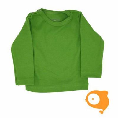 Wooden Buttons - Longsleeve groen