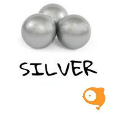 Misioo - 50 extra zilver ballen ( enkel samen met ballenbad te bestellen)
