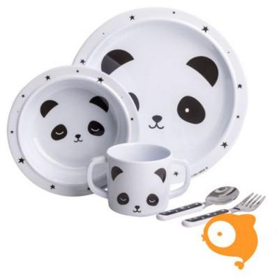 A little lovely company - Eetset panda