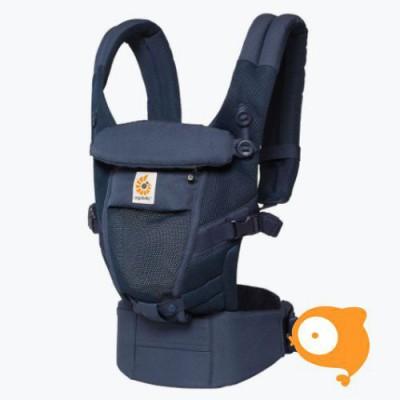 Ergobaby - Babydraagzak 3 posities adapt cool air mesh - deep blue