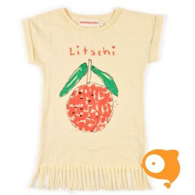 Nadadelazos -  T-shirt dress litschi