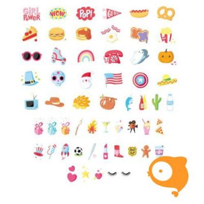 A little lovely company - Lightbox letter set american dreams