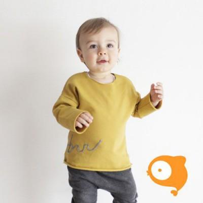 AAI AAI - Sweater BRR okergeel