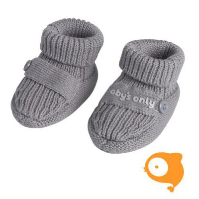 Baby's Only - Slofjes one size grijs