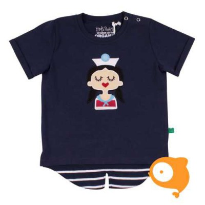 Fred's World - T-shirt sailor front girl