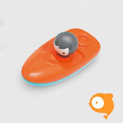 Kid O - Speedboot mini oranje/blauw