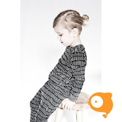 Little Black Pepper - Legging Stripe zwart
