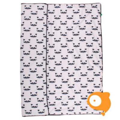 Fred's World - Raccoon play blanket (speelmat) 100x100cm