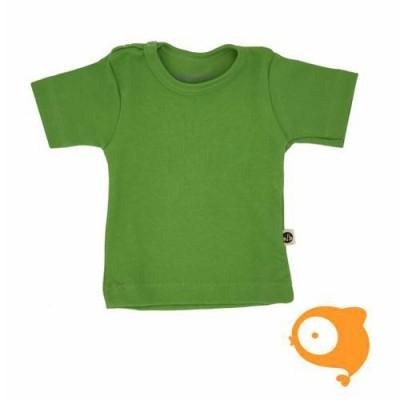 Wooden Buttons - T-shirt groen