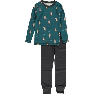 Maxomorra  - Pyjama Set LS curious otter