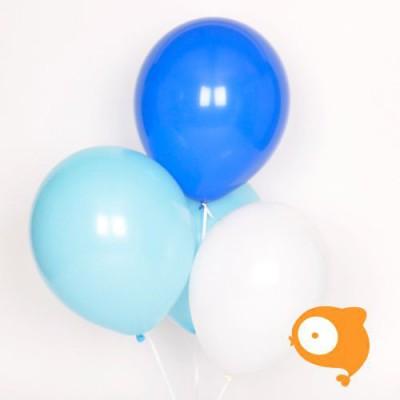 My little day - Ballonnen trio blauw - set van 10
