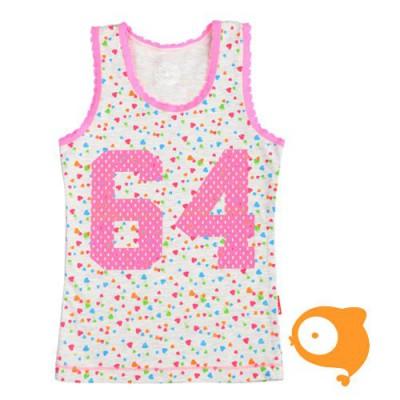Claesen's - Onderhemd meisjes hartjes