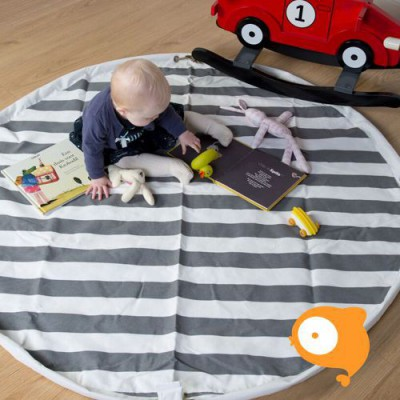 Childhome - Playmat/toybag tipi zigzag/strepen