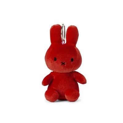 Nijntje - sleutelhanger velvet candy red