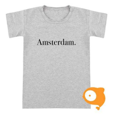 Little Indians - T-shirt Amsterdam grijs