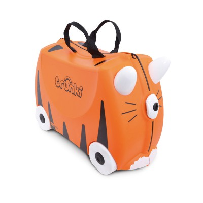 Trunki - Kinderkoffer ride-on tijger