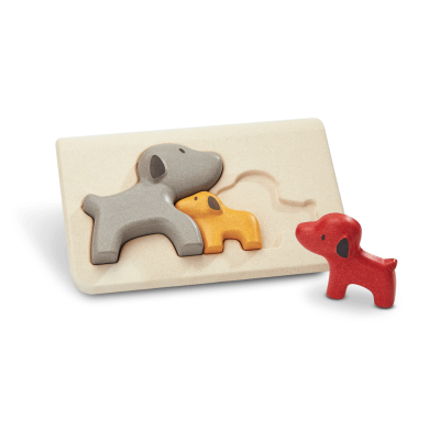 PlanToys - Hond puzzel