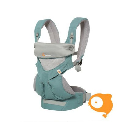 Ergobaby - Babydraagzak 4 posities 360 - cool air icy mint