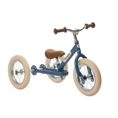 Trybike - steel 2 in 1 loopfiets vintage blue