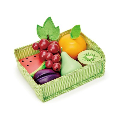 Tender leaf toys - mandje met fruit