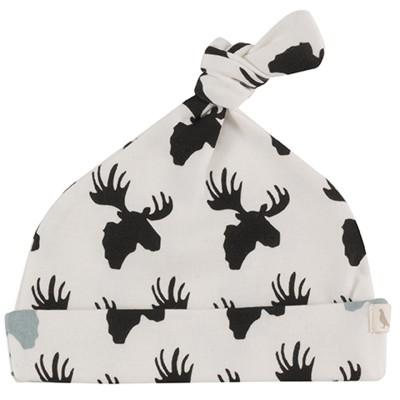 Pigeon - Geknoopte muts moose - black/white