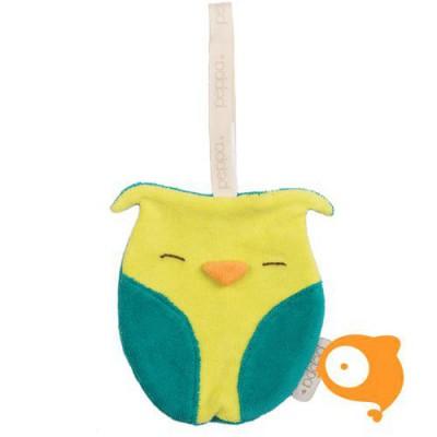 Peppa - Knuffeldoekje comfort buddie owl organic/bio