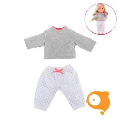 Corolle - 2-delige pyjamaset voor pop 36cm DJH41