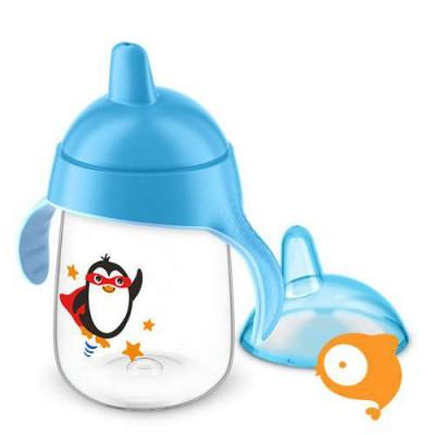 Avent - Lekvrije Pinguin beker 340 ml Blauw