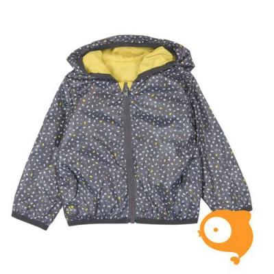 Boboli - Omkeerbaar jasje grijs/geel
